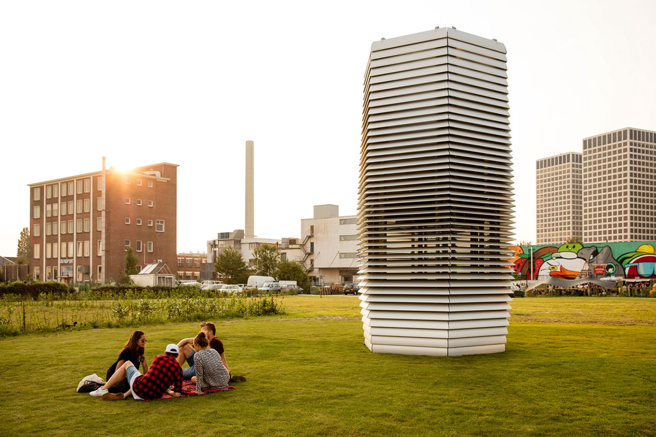 Smog Free Tower in Rotterdam