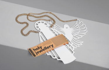 Jonas Hasselman Critical Souvenirs Lasercut Statement Necklace
